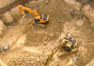 Способы и технология уплотнения и разработки грунта