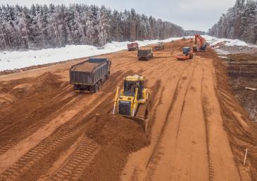 Как происходит расширение и реконструкция автомобильной дороги